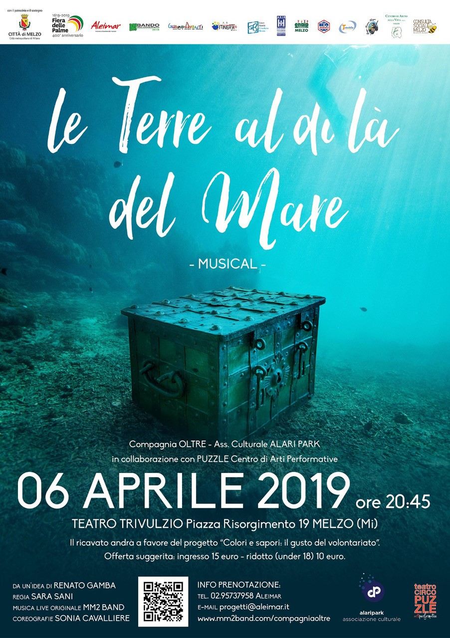 """Vi aspettiamo al musical """"Le Terre al di là del mare""""!"""