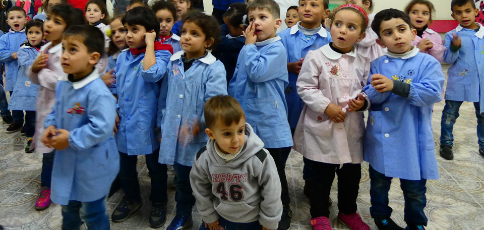 Ai bambini di Betlemme servono aule riscaldate!