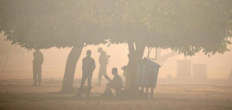 Nuova Delhi è una camera a gas